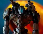 Пазл: Металлический робот