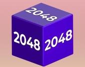 Цепной куб 2048 3D