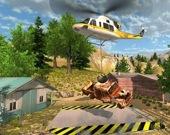 Спасательная операция на вертолете
