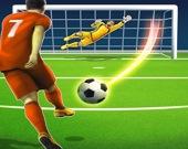 Футбольная лига чемпионов - Бей по мячу