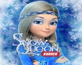 Снежная королева: ледяная гонка с препятствиями