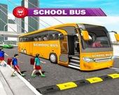 Автобус со старшеклассниками