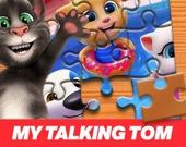 Говорящий Том и друзья - Пазл