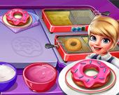 Готовим пончики 2
