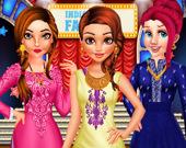 Наряды принцесс для гала-концерта в Индии