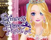 Фотосессия принцессы на выпускном