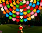 День святого Валентина: Колесо из пузырьков