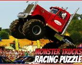 Гонки на монстрах-грузовиках: Паззл