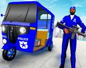 Полицейское авто-рикша такси