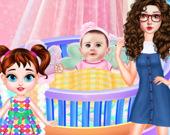 Малышка Тейлор: День в роли няни