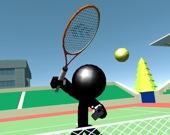 Стикман - теннис 3D