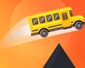 Безумные прыжки на автобусе