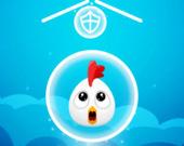 Спаси цыпленка в шаре