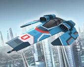 Шестиугольный летающий гонщик