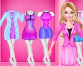 Рабочая одежа для модной девушки