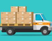 Пазл: Фургончики по доставке еды