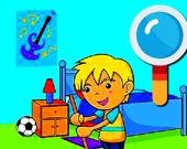 Детская комната: найдите отличия