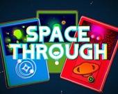 Сквозь пространство - игра с карточками