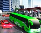 Симулятор автобуса - езда по городу