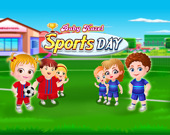 День спортивных состязаний Малышки Хейзер