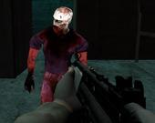 Стрельба по ядовитым зомби