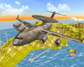 Военный самолет симулятор полета: вызов 3D