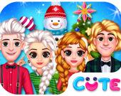 Празднование Рождества принцессы