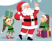 Счастливого Рождества от Санты - Пазл