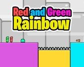 Зеленый и красный: Радуга