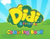 Диди и друзья: Раскраска