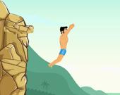 Прыжки в воду со скалы