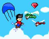 Летающий супер герой