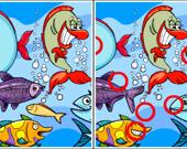 Найдите отличия: Рыбы