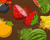 Разрежь фрукт