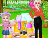 День семейного пикника принцессы