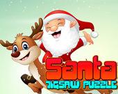 Пазл Санта