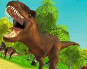 Охота на динозавров: атака дино 3D