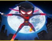 Стикмен-Ниндзя: сила в прыжках
