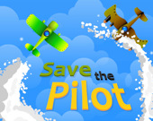 Спаси пилота аэроплана: стрелялка