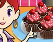 Шоколадные кексы: Кулинарный класс Сары