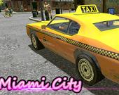 Такси в Майями 3D
