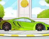 Мойка спортивных машин 2D