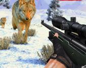 Снайперский охотник на волков