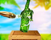 Экстремальная стрельба по бутылкам