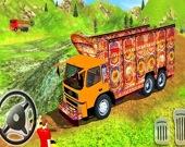 Перевози груз на индийском грузовике