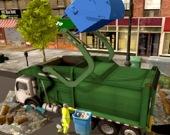Очисть город: симулятор мусоровоза