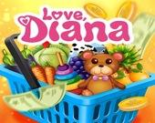 Диана в супермаркете