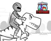 Могучие Рейнджеры: бег тирекса