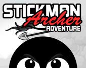Приключения Стикмена-лучника