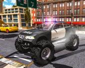Симулятор водителя полицейской машины